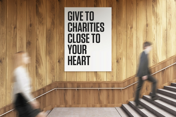 600X400 GIVE TO CHARITIES CLOSE TO YOUR HEART