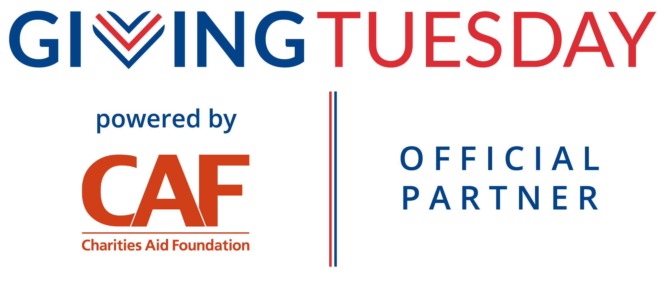 Giving Tuesday Official Partner Logo_Powered by CAF
