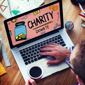 donating online for charity 275