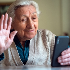 elderly lady phone call blog post summary