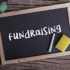 Fundraising whiteboard