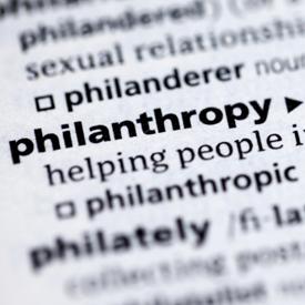 philanthropy dictionary def 275