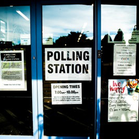 polling station 275 unsplash