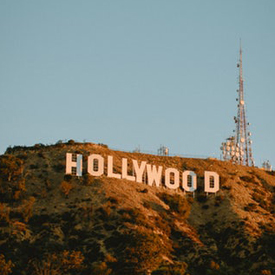 unsplash hollywood sign