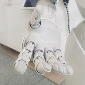 unsplash robot hand 275