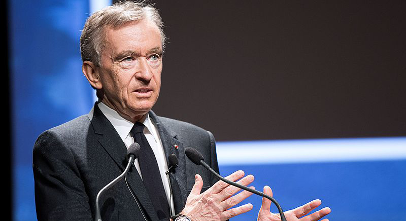 Bernard Arnault LVMH chief executive wiki commons by Jeremy Barande