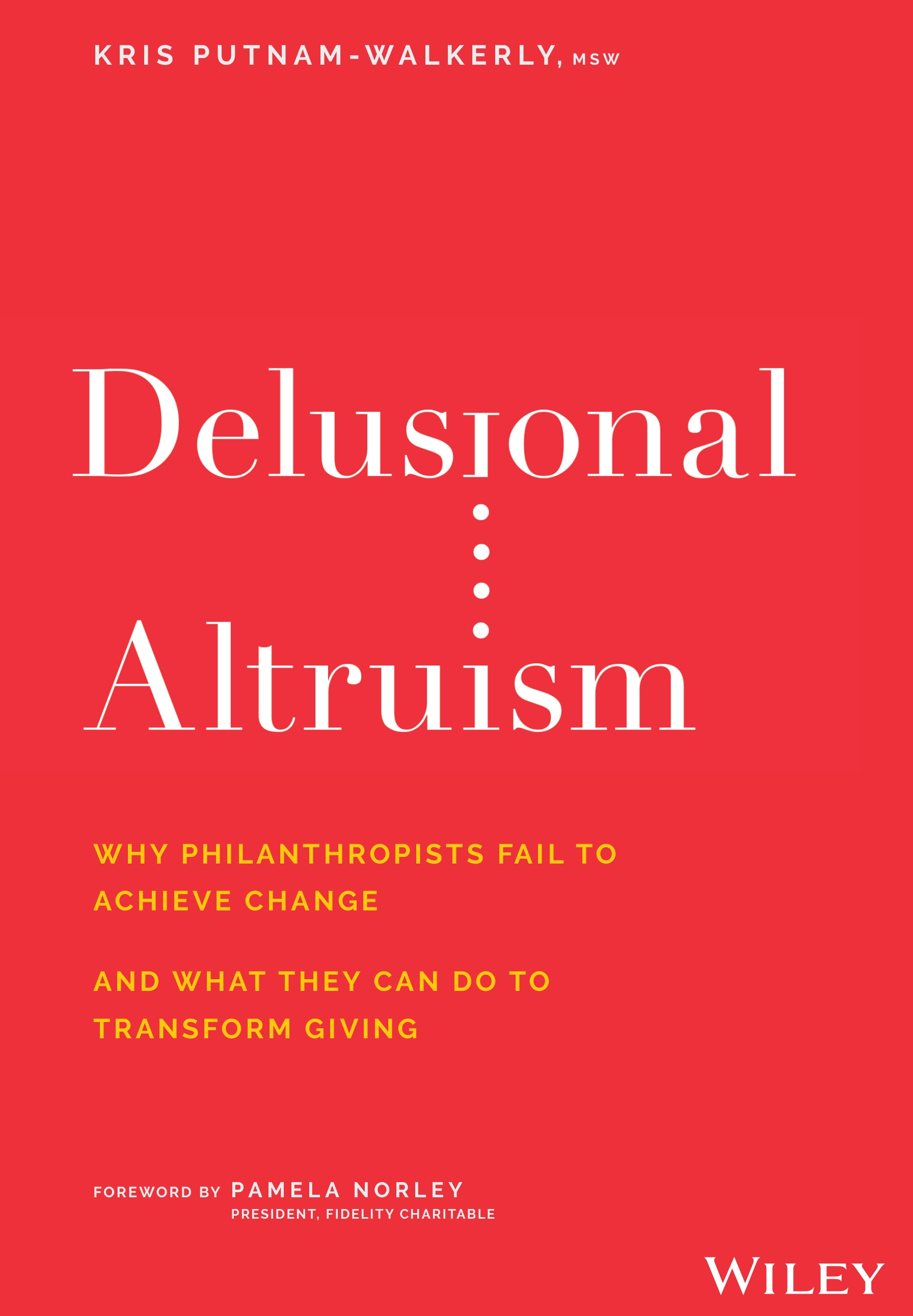 book cover delusional altruism