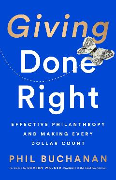 Giving Done Right book cover