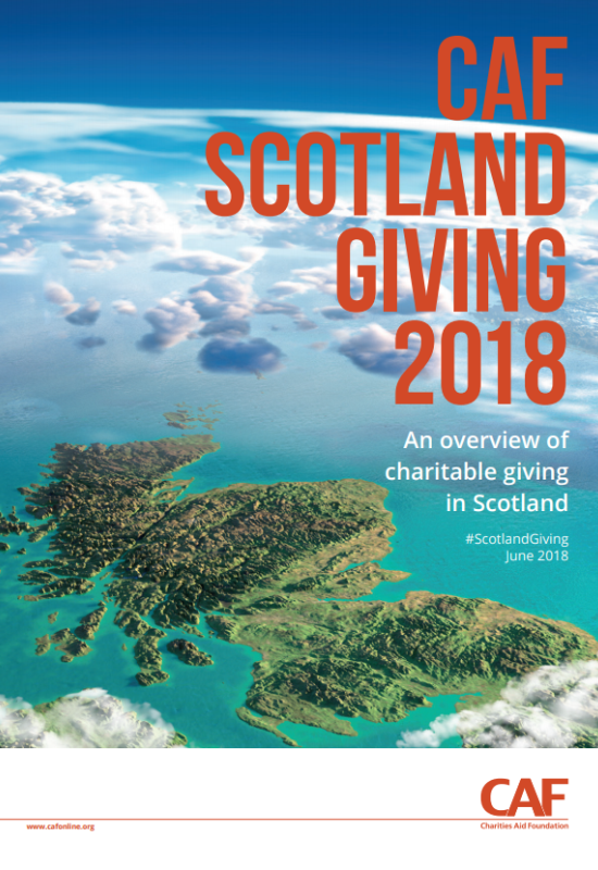 Scotland Giving 2018 report cover