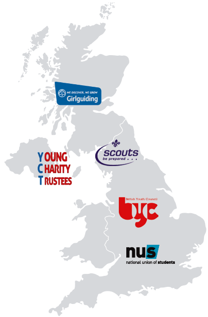 young trustees map of the uk
