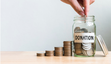 Regular donations