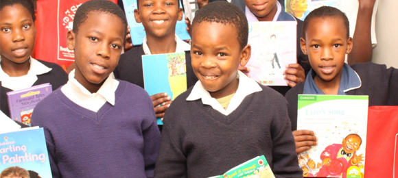 We supported Help2Read with funding to teach children how to read in southern Africa