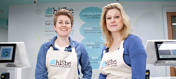 We supported HiSbe with funding to provide reasonablly priced groceries