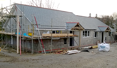 We supported Cornwall St Teath CLT with funding to develop new low cost homes in Cornwall.