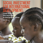 social investment for international development 150
