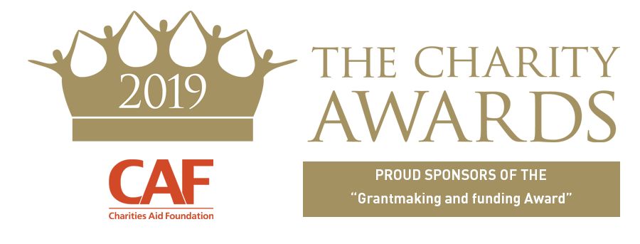 CAF are proud sponsors of The Grantmaking and Funding award at The Charity Awards 2019