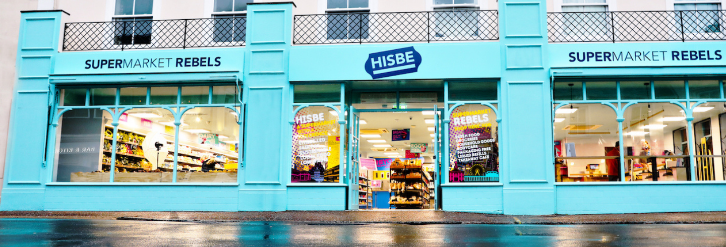 HISBE shop front