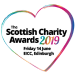 Scottish Charity Awards 2019 heart logo