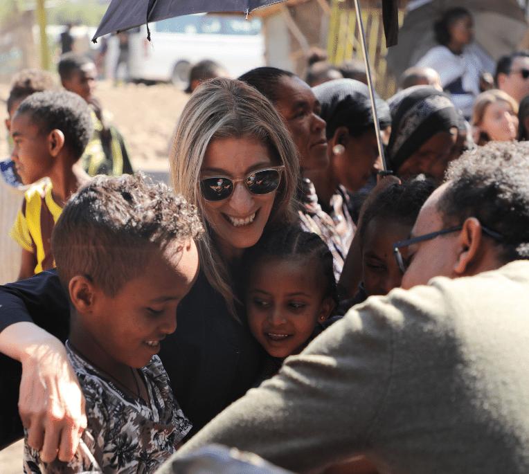 Jamie Cooper in Ethiopia