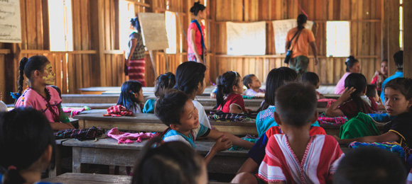 Groundwork for Growing Giving Myanmar school unsplash case study