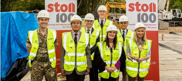 Stoll is building a new housing development for vulnerable Veterans at Aldershot Garrison