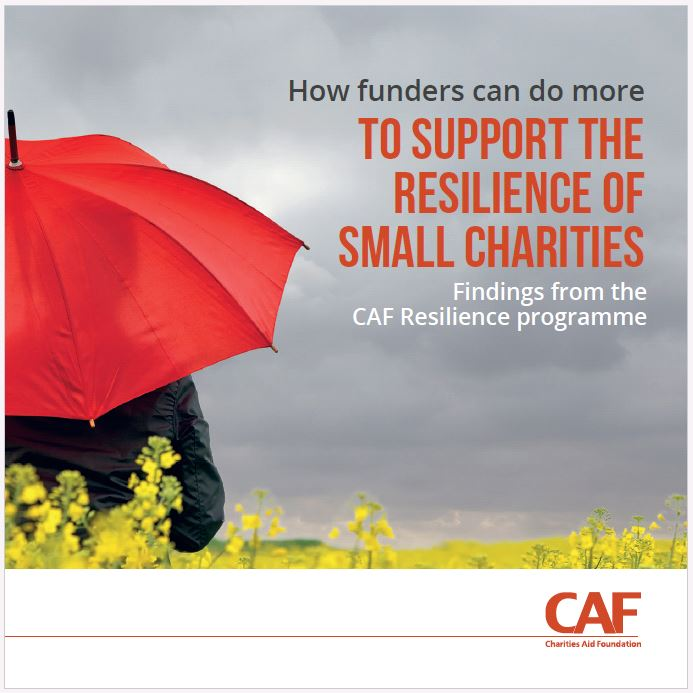 How funders can support the resilience of small charities