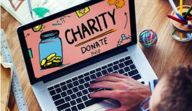 web donations