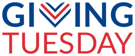 Giving Tuesday Campaign logo Vertical
