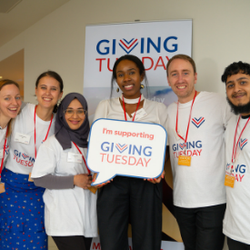 Giving Tuesday 2019 launch photo