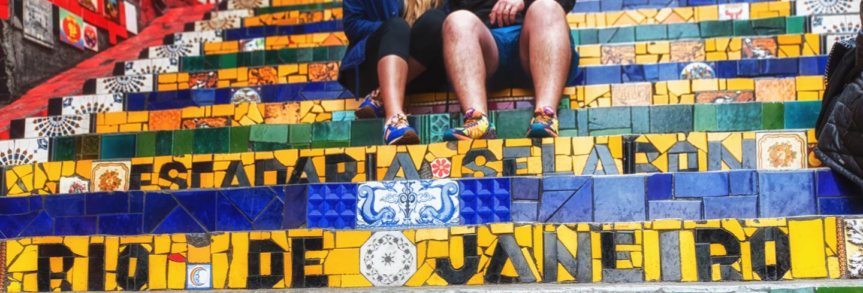Rio de Janeiro steps