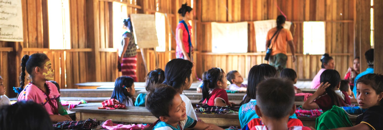 school in Myanmar Photo by Zi Jian Lim