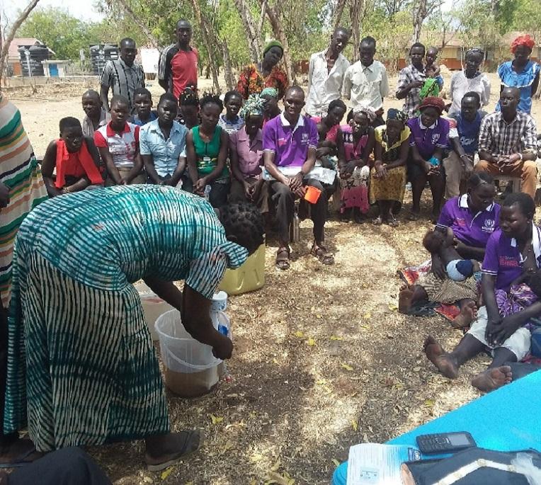 The Adjumani filter project