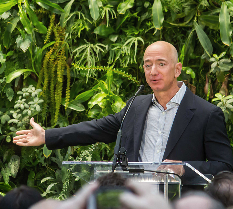 Jeff Bezos, Big Philanthropy and Climate Change