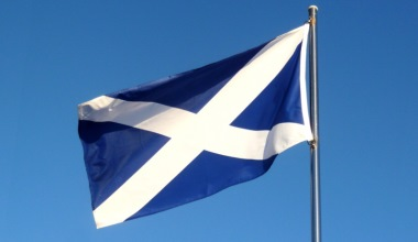 Scotland Saltire flag CAF