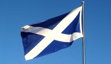 Scotland Saltire flag CAF