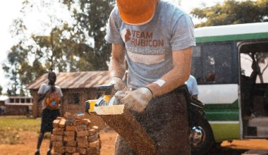 Uganda and Gorundwork for Growing Giving CAF