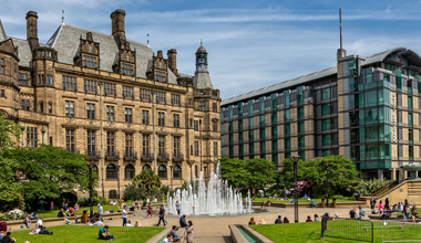 Sheffield Peace Gardens image header 380