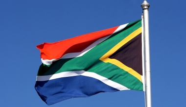 South African flag CAF