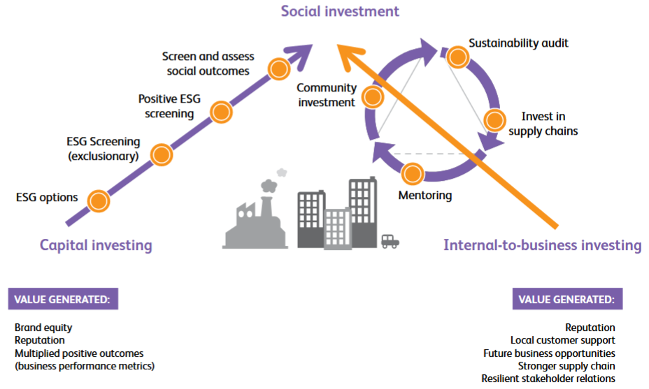 power of social investment infographic