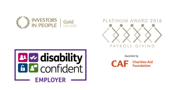 Our accreditations, including IiP and PGQM