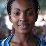 giving in kenya uganda tanzania 2020 Kut woman in blue 150