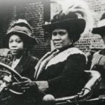 Madame CJ Walker driving automoblie 150