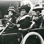 philanthropist madame-c-j-walker-driving-automobile