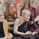 religion monks praying