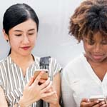 social media 150unsplash people phones