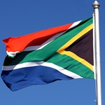 south africa flag 150
