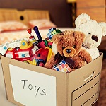 Donate toys to charity