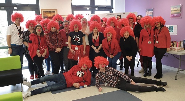Customer Services on Red Nose Day