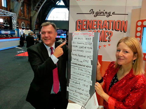 Ed Balls with the Generation Game