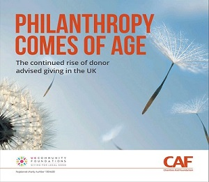 Philanthropy comes of age report 2018